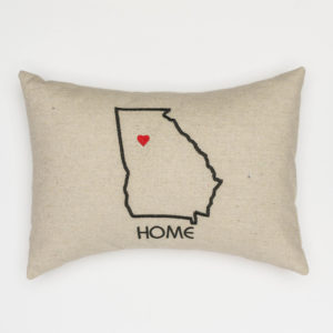 Custom State Pillow